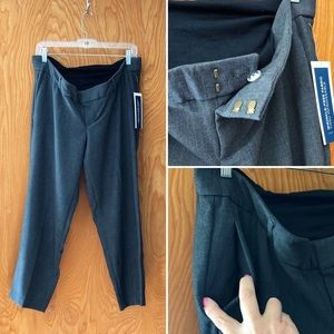 NWT Old Navy maternity Harper crop dress pants